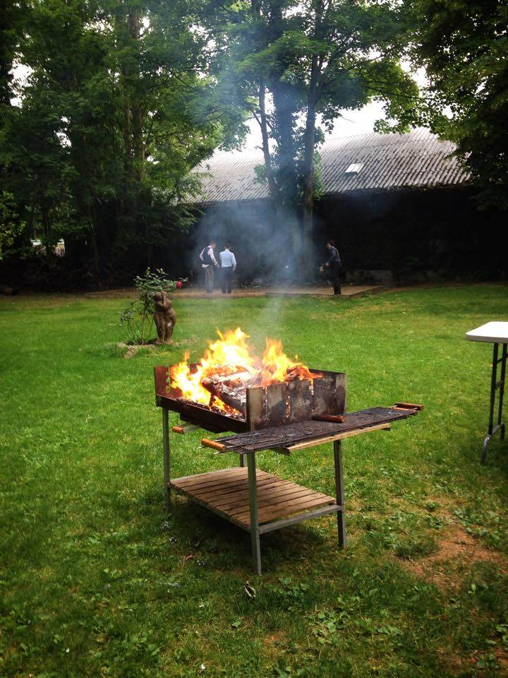 garden party barbecue entreprise