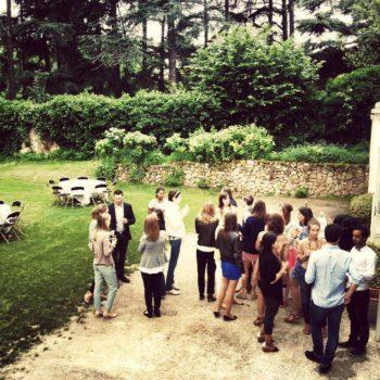 garden party barbecue entreprise