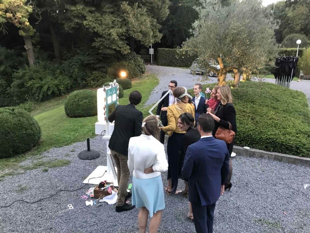 borne photo location mariage